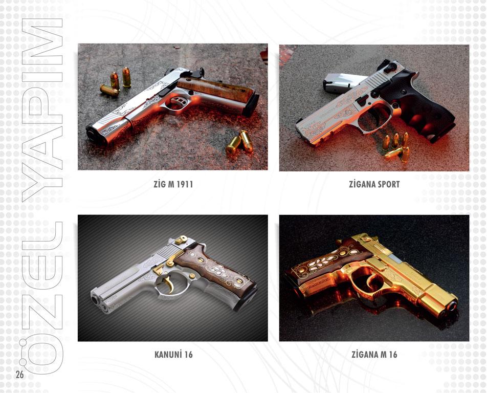 Tisaş - Trabzon Silah Sanayi A.Ş - Silah Modelleri