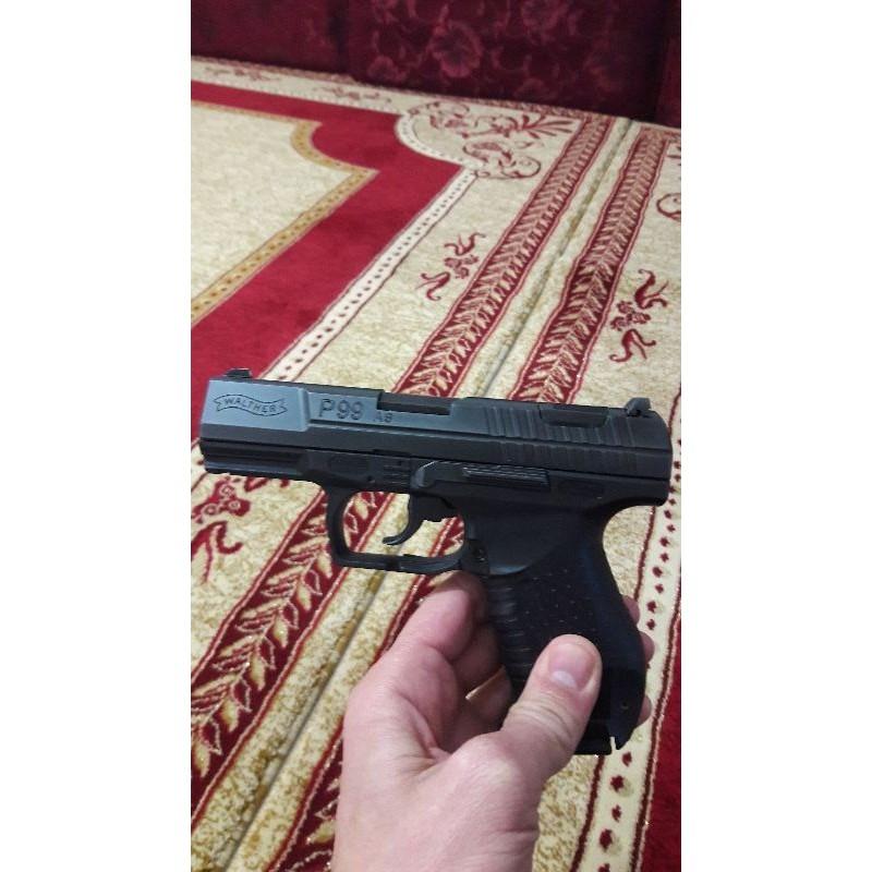 Walther P99 AS sıfır 5 yıldır az kullanılmış kutusu yedek jarjur kılıf