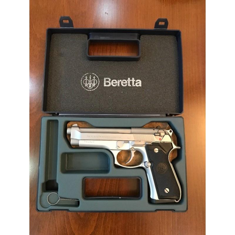 Tek Mermi Atılmadı. Beretta F92 İnox. Sıfır Ayarında.