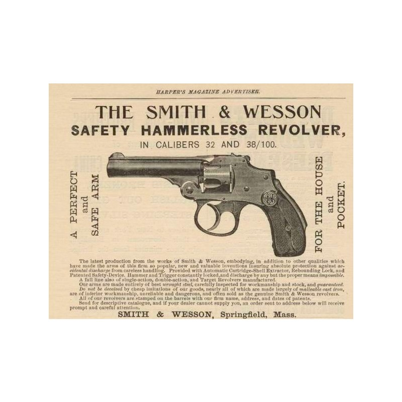 SMİTH&WESSON SAFETY HAMMERLESS 32 KISA