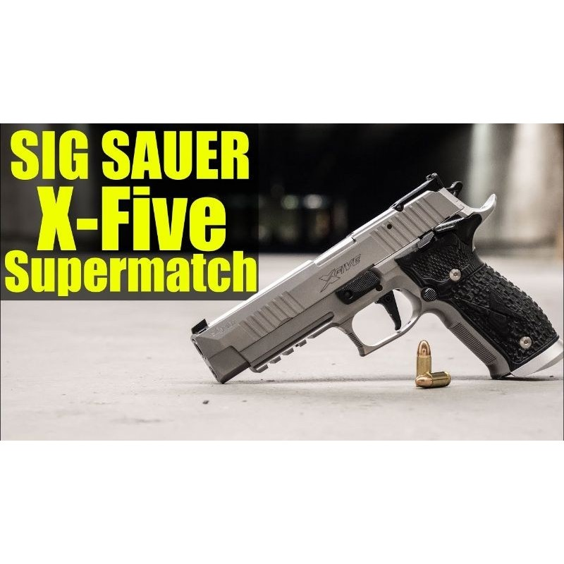 SIG SAUER X FIVE SUPERMATCH 9MM