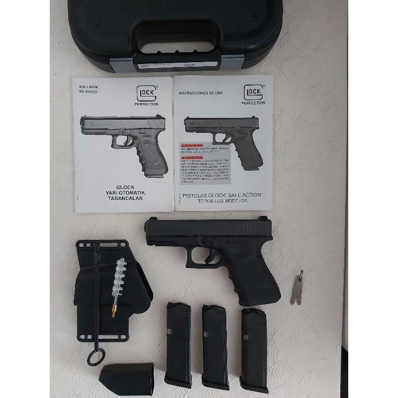 Ankarada sıfır glock 19