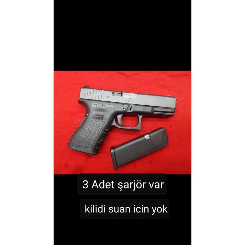 Çok temiz Glock 19 anahtarli