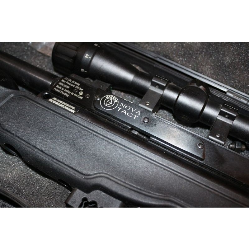 Hatsan Nova Tact 5.5 MM Havalı Tüfek ve Pompası