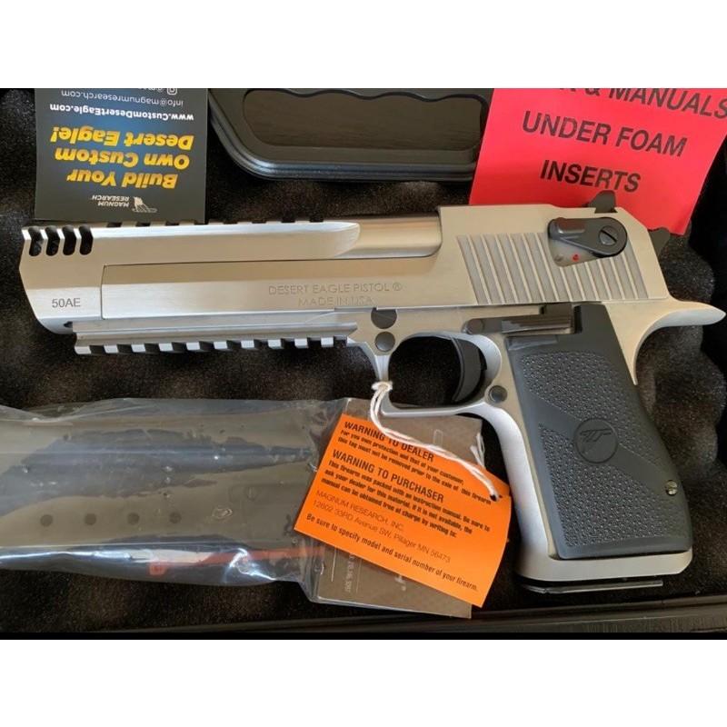 Magnum Desert Eagle(Çöl Kartalı) 50 AE Mark XIX Muzzle Brake stainless Steel