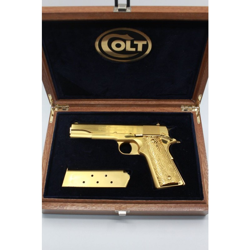 COLT 1911 SPECİAL EDİTİON 24K GOLD SERİES
