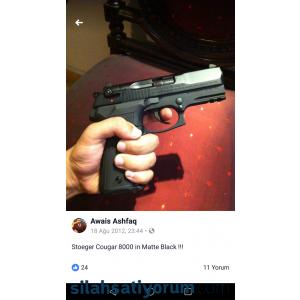 Ruhsatlı tabanca